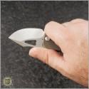(#MKT-ERIS-001) Medford Knife & Tool Eris Bronze Ti - Tumbled - Additional View