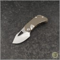 (#MKT-ERIS-001) Medford Knife & Tool Eris Bronze Ti - Tumbled - Front