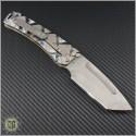 (#MKT-MAR-007) Medford Knife & Tool Custom Marauder Tanto - Back