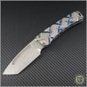 (#MKT-MAR-007) Medford Knife & Tool Custom Marauder Tanto - Front