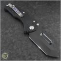 (#MKT-PRAP-BK) Medford Knife & Tool Praetorian P Tanto Black PVD Full G-10 - Back