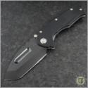 (#MKT-PRAP-BK) Medford Knife & Tool Praetorian P Tanto Black PVD Full G-10 - Front