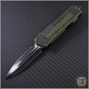 (#MTC-0076) Microtech Marfione Custom Scarab D/E Satin DLC  - Front