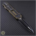 (#MTC-0077) Microtech Marfione Custom Scarab D/E Satin DLC  - Back