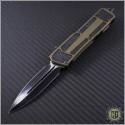 (#MTC-0077) Microtech Marfione Custom Scarab D/E Satin DLC  - Front