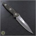 (#MTC-0096) Marfion Custom Socom Alpha Clip Point Micarta Handle - Back