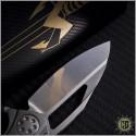 (#MTC-0103) Marfione Custom Mini Matrix Hand Rubbed Satin - Back