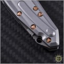 (#MTC-0104) Marfione Custom Sigil Two Tone Stonewash w/ SS & Copper handle  - Additional View