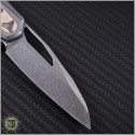 (#MTC-0104) Marfione Custom Sigil Two Tone Stonewash w/ SS & Copper handle  - Back