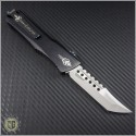(#MTC-0119) Marfione Custom Combat Troodon Mirror Polished Hellhound Tanto - Back
