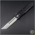 (#MTC-0119) Marfione Custom Combat Troodon Mirror Polished Hellhound Tanto - Front