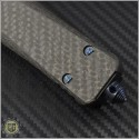 (#MTC-0205) Marfione Custom Combat Troodon Hellhound Tanto Spirograph Damascus - Additional View