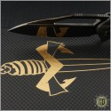 (#MTC-0214) Marfione Custom Mini Matrix-R DLC Mirror Carboquartz - Additional View