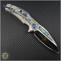 (#MTC-0217) Marfione Custom Matrix-R Titanium Abalone Inlay - Additional View