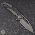 (#MTC-0257) Marfione Custom Matrix - Carbon Fiber Handle - Apocalyptic Blade - Back