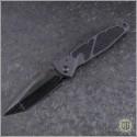 (#MTC-0266) Microtech Custom Socom Elite T/E DLC Razorwire Damascus - Front