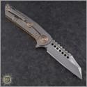 (#MTC-0288) Marfione Custom Copper Warhound Folder Mirror Polish - Additional View