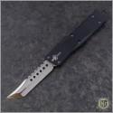 (#MTC-0290) Marfione Custom Troodon Hellhound Tanto Mirror Polished - Back