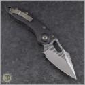 (#MTC-0295) Marfione Custom Stitch Auto Borka Pattern Satin - Back