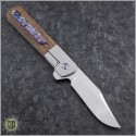 (#PENA-BF-001) Pena Knives Barlow Flipper - Satin Finish - Back