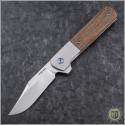 (#PENA-BF-001) Pena Knives Barlow Flipper - Satin Finish - Front