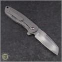 (#PK-Bravo) Pena Knives Bravo Ti Flipper Wharncliffe - Back
