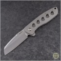 (#PK-Bravo) Pena Knives Bravo Ti Flipper Wharncliffe - Front