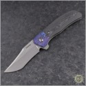 (#PK-Viper) Pena Knives Viper Carboquarts Timascus - Front