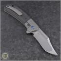 (#PK-XS-CF) Pena Knives X-Series Lanny's Clip Carbon Fiber Titanium - Back