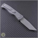 (#PT-TR19) Protech TR-1.9 Tactical Response 1 Grey Handle Tanto - Back