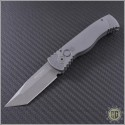 (#PT-TR19) Protech TR-1.9 Tactical Response 1 Grey Handle Tanto - Front