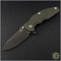 (#RH-JUR-001) Rick Hinderer Knives Jurassic DLC - Front