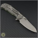 (#RH-MP1-G1) Rick Hinderer MP-1 G-10 Titanium Framelock - Back