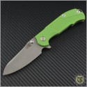 (#RH-MP1-G1) Rick Hinderer MP-1 G-10 Titanium Framelock - Front