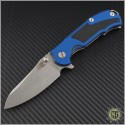 (#RH-MP1-G3) Rick Hinderer MP-1 G-10 Titanium Framelock - Front