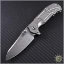 (#RH-MP1) Rick Hinderer MP-1 Titanium Framelock - Front