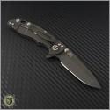"(#RH-XM1830-13) Rick Hinderer XM-18 3"" Spanto - Black Handle - Back"