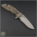 "(#RH-XM1830-6) Rick Hinderer XM-18 3"" Recurve - Working Finish - Back"