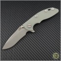 "(#RH-XM1830-8) Rick Hinderer XM-18 3"" Recurve - Working Finish - Front"