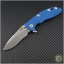 "(#RH-XM1830-9) Rick Hinderer XM-18 3"" Recurve - Stonewash - Front"