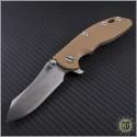 "(#RH-XM1835-28) Rick Hinderer XM-18 3.5"" Skinner Stonewash - Front"