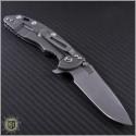 "(#RH-XM1835-32) Rick Hinderer XM-18 3.5"" Spearpoint Stonewash - Back"