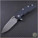 """(#RH-XM1835-32) Rick Hinderer XM-18 3.5"""" Spearpoint Stonewash - Front"""