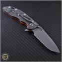 "(#RH-XM1835-34) Rick Hinderer XM-18 3.5"" Spearpoint Stonewash - Back"