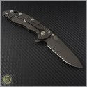 "(#RH-XM1835-43) Rick Hinderer XM-18 3.5"" Spear Point - Black - Back"