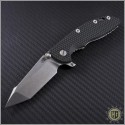 "(#RH-XM1835-HarpF4) Rick Hinderer XM-18 3.5"" Fatty Harpoon Tanto - Front"