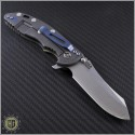 "(#RH-XM1835-LE-4) Rick Hinderer XM-18 3.5"" Limited Edition 2-Tone Skinner - Back"
