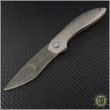 (#SCC-001) Simeon Custom Knives Icepick XL Recurve - Front
