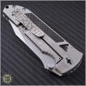 (#SHUN-CFS-C) Alex Shunnarah Custom CFS Ti Framelock w/ CF Inlay - Additional View
