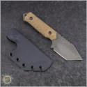 (#TPK-TNT-084) Tactical Pterodactyl Knives EDC Tanto - Back